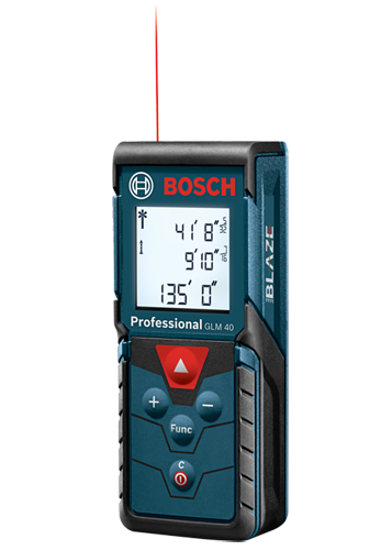 Glm 40 135 Ft Laser Measure Bosch Power Tools