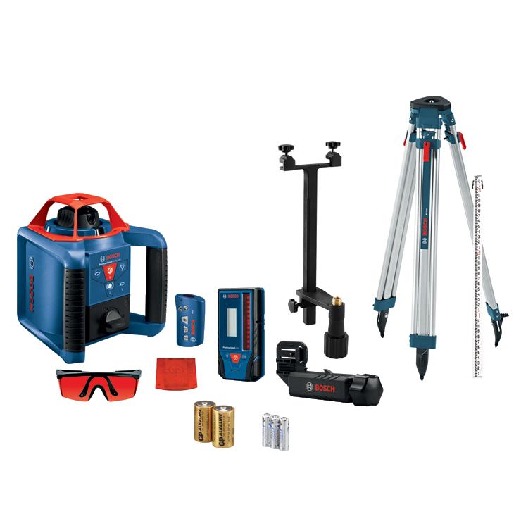 GRL900-20HVK REVOLVE900 Self-Leveling Horizontal/Vertical Rotary Laser Kit
