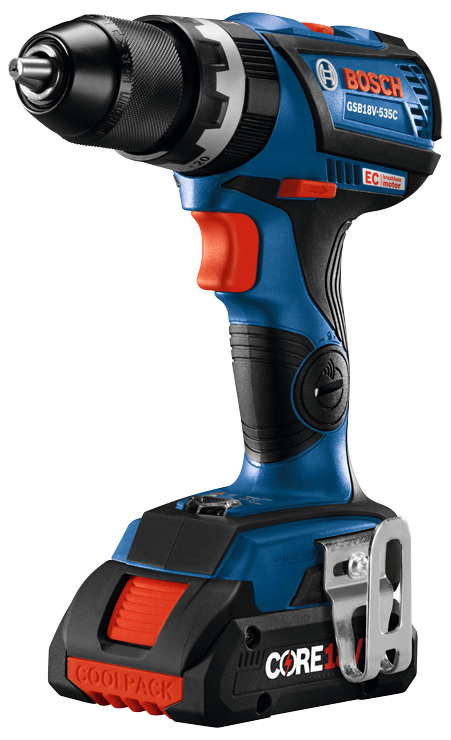 GSB18V-535C Overview 18V EC Brushless Connected-Ready Compact Tough 1/2 In. Hammer Drill/Driver