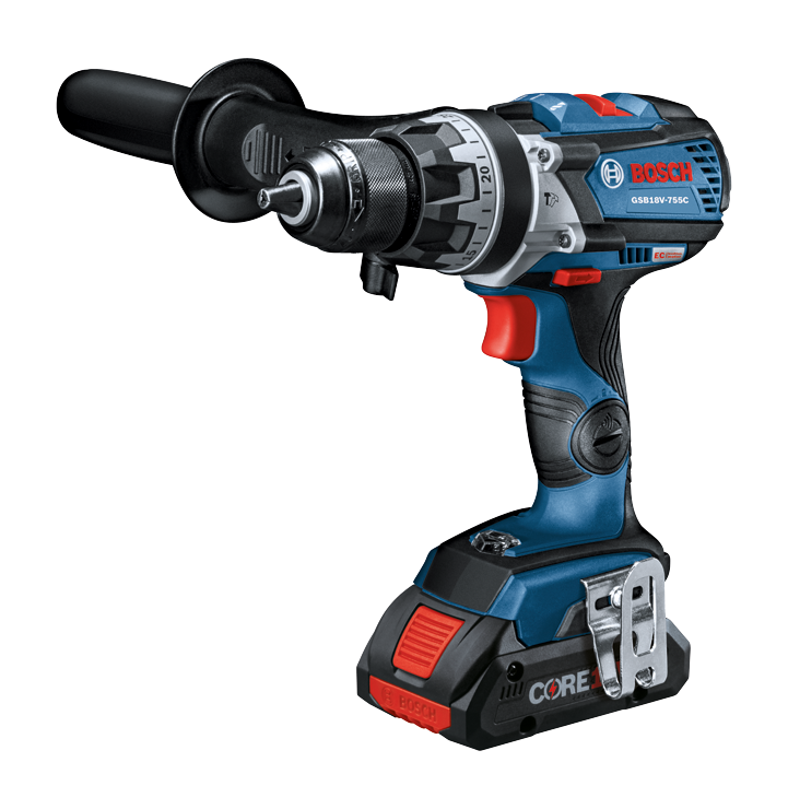 GSB18V-755C Overview 18V EC Brushless Connected-Ready Brute Tough 1/2 In. Hammer Drill/Driver