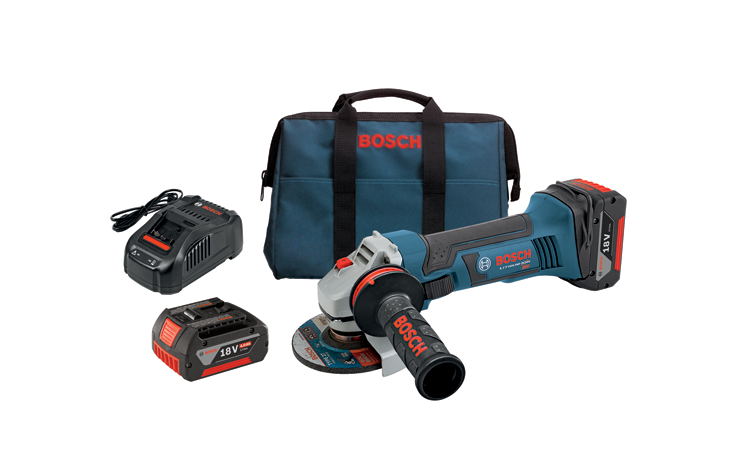 GWS18V-45-01 18V 4-1/2 In. Angle Grinder Kit