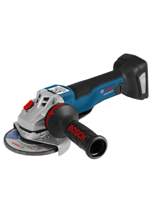 GWS18V-45PCN 18 V EC Brushless Connected-Ready 4-1/2 In. Angle Grinder with No Lock-On Paddle Switch (Bare Tool)