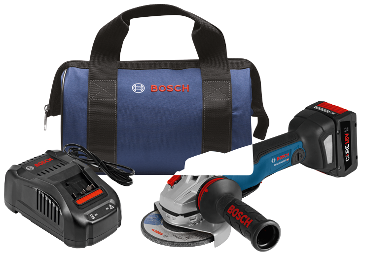 GWS18V-45PSCB14 18V EC Brushless Connected 4-1/2 In. Angle Grinder Kit with No Lock-On Paddle Switch