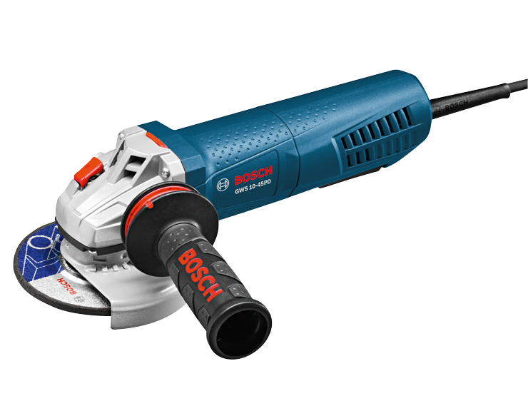 GWS10-45PD 4-1/2 In. Angle Grinder with No-Lock-On Paddle Switch