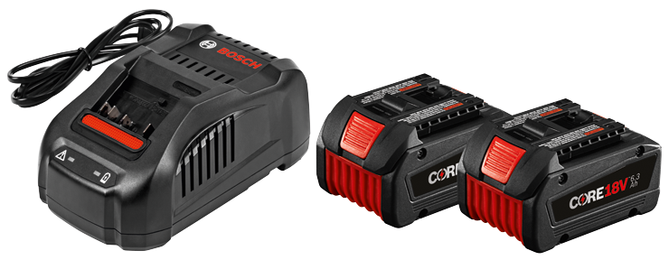 GXS18V-02N24 18 V CORE18 V Starter Kit with (2) CORE18 V 6.3 Ah Batteries