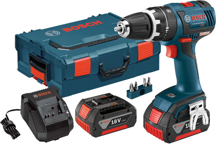 HDS182-01L 18 V EC Brushless Compact Tough™ 1/2 In. Hammer Drill/Driver