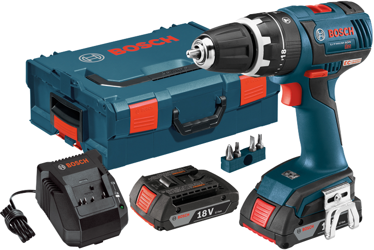 HDS182-02L 18 V EC Brushless Compact Tough™ 1/2 In. Hammer Drill/Driver