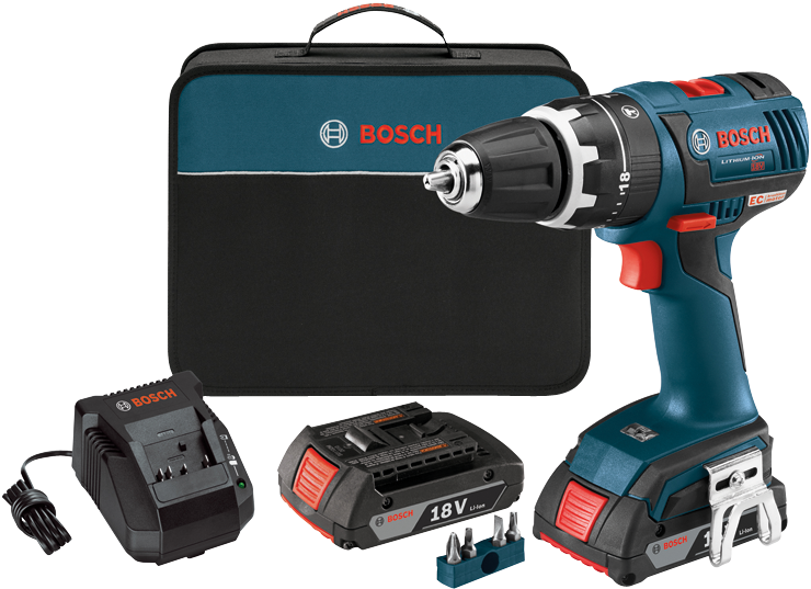 HDS182-02 18 V EC Brushless Compact Tough™ 1/2 In. Hammer Drill/Driver