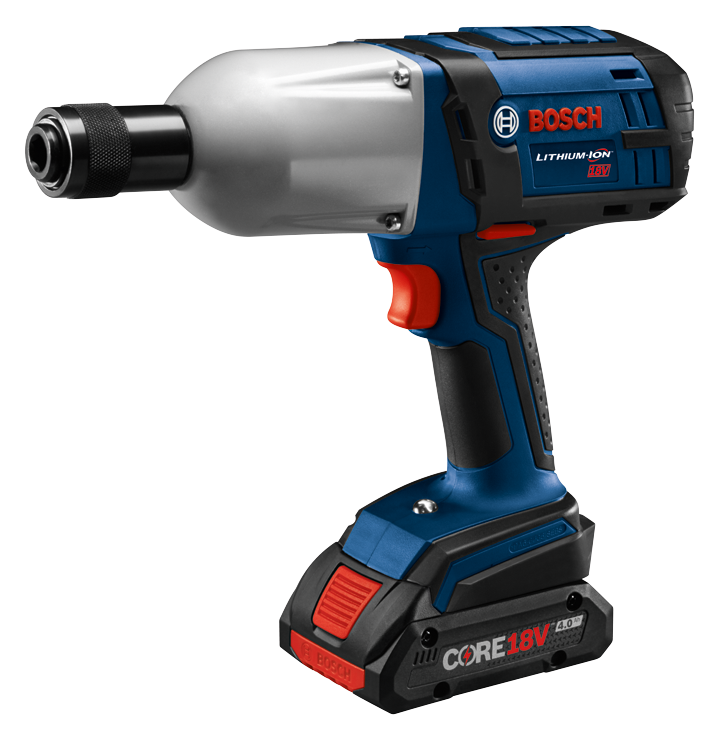 HTH182 Overview 18V High-Torque Impact Wrench with 7/16 In. Hex