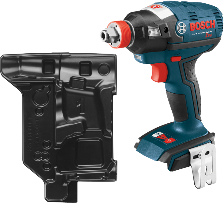 IDH182BN 18 V EC Brushless Socket-Ready Impact Driver with Both 1/4 In. Hex and 1/2 In. Square Drives