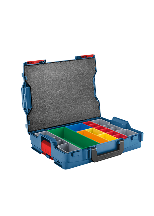 L-BOXX-1A 4-1/2 In. x 14 In. x 17-1/2 In. Stackable L-Boxx Accessory Storage Case with 13 Accessory Inserts