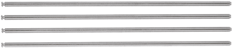 MS1222 Extra-Long Base Support Rods for Slide Miter Saws