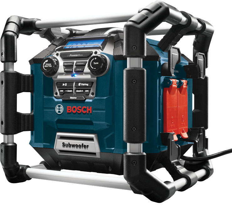 PB360C Power Box™ Jobsite AM/FM Radio/Charger/Digital Media Stereo with 360 Degree Sound and Bluetooth®