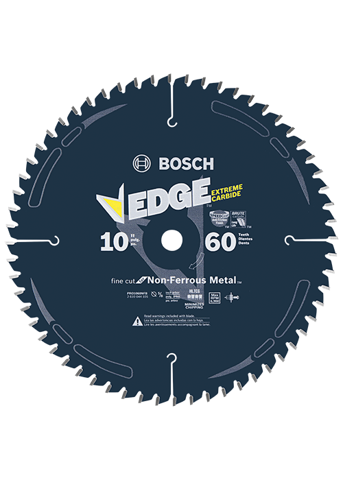 PRO1060NFB 10 In. 60 Tooth Edge Non-Ferrous Metal-Cutting Circular Saw Blade