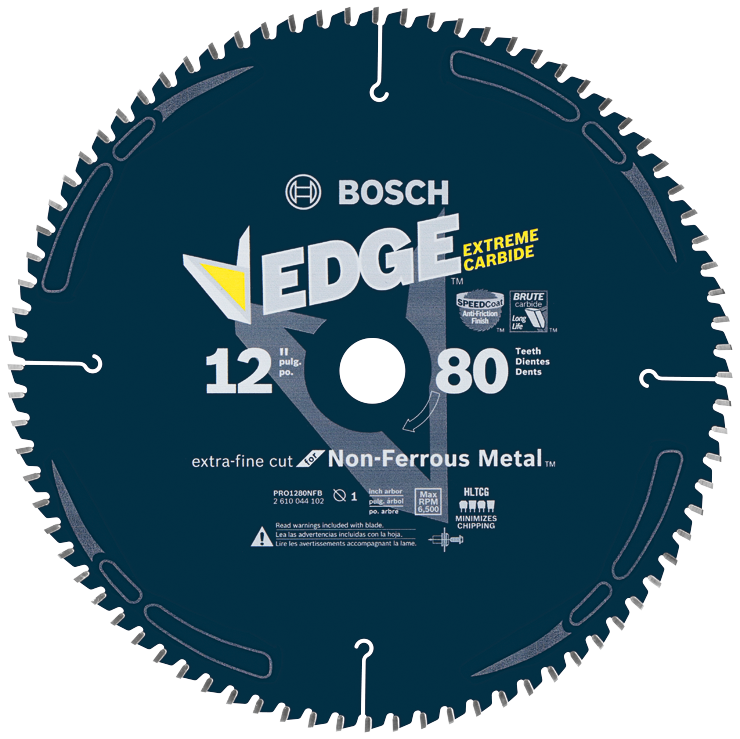 PRO1280NFB 12 In. 80 Tooth Edge Non-Ferrous Metal-Cutting Circular Saw Blade