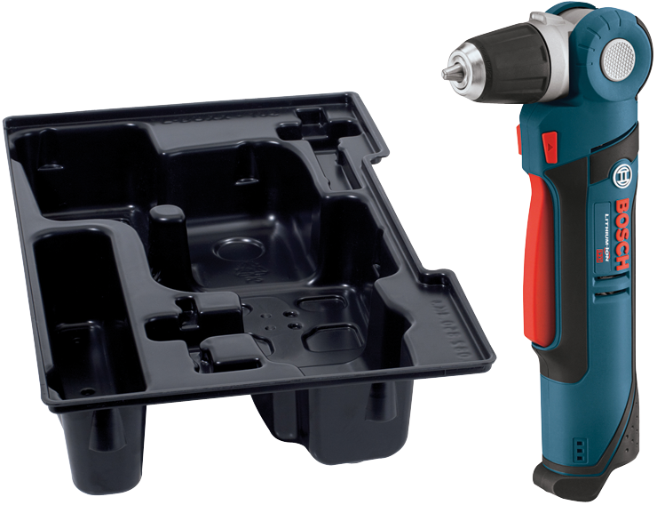 PS11BN 12 V Max 3/8 In. Angle Drill with Exact-Fit™ Insert Tray