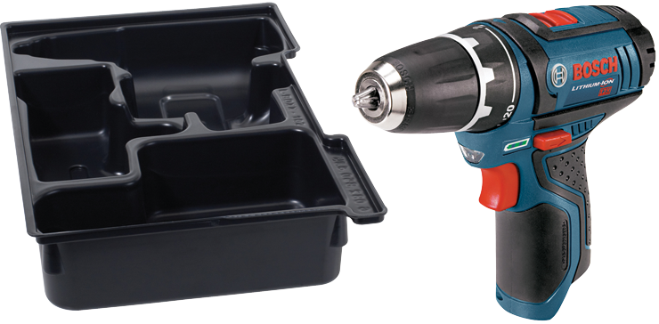 PS31BN 12V MAX 3/8 In. Drill Driver with Exact-Fit™ Insert Tray