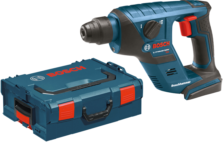 RHS181BL 18 V 1/2 In. Compact Cordless Rotary Hammer - Tool Only with L-BOXX2
