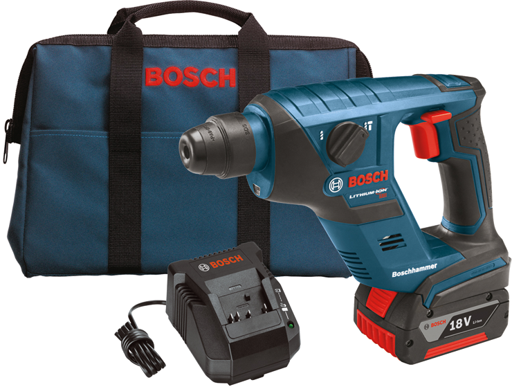 RHS181K 18 V 1/2 In. SDS-plus® Compact Rotary Hammer Kit with (1) Lithium-Ion FatPack Battery