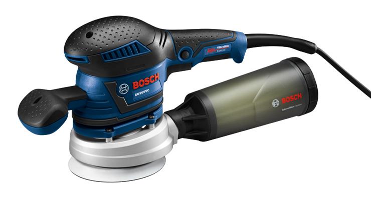 ROS65VC-6 | 6 In. Random Orbit Sander/Polisher | Bosch Power Tools