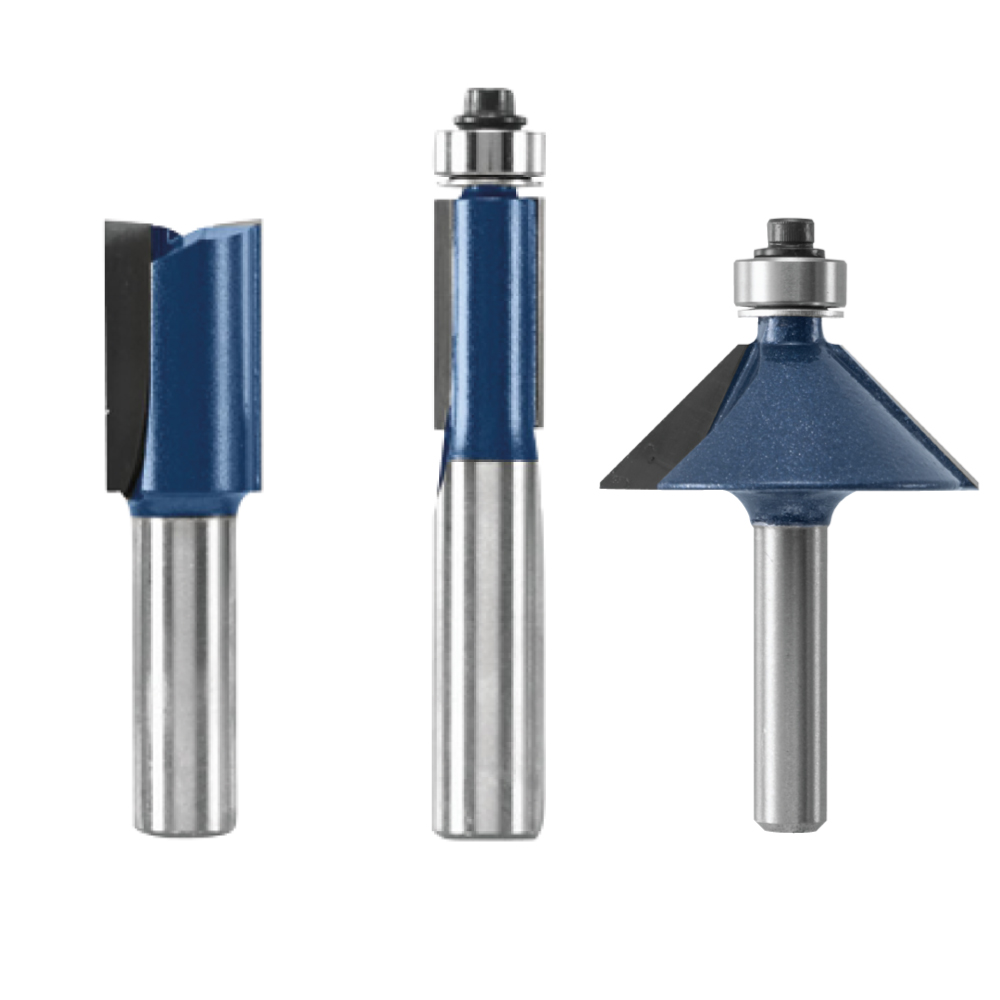 Router Bits and Components