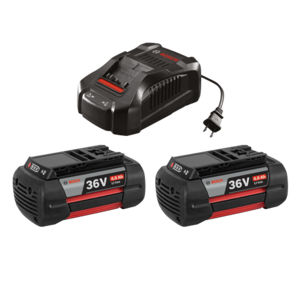 36V Batteries, Charger & Starter Kit