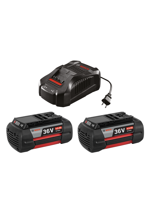 36V Batteries, Chargers and Starter Kits