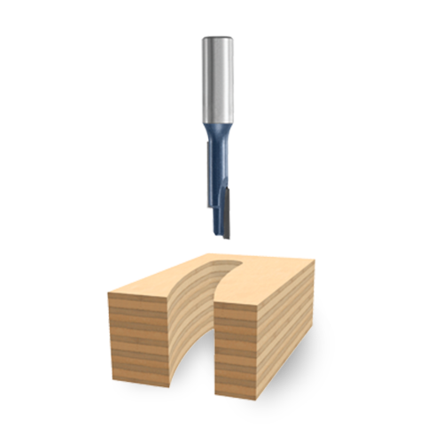 Staggertooth Router Bits