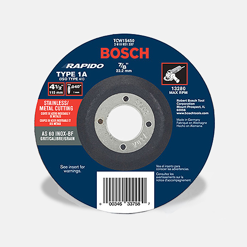 Gws9 45 4 1 2 In Angle Grinder Bosch Power Tools