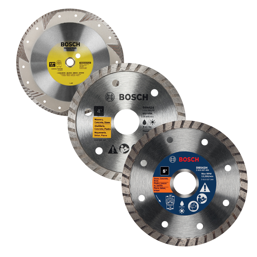 Turbo Rim Diamond Abrasive Blades