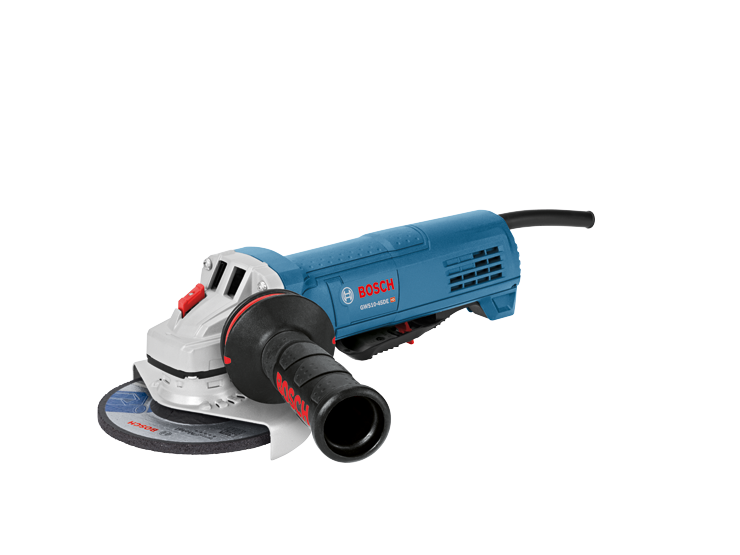GWS10-45DE 4-1/2 In. Ergonomic Angle Grinder with No Lock-On Paddle Switch