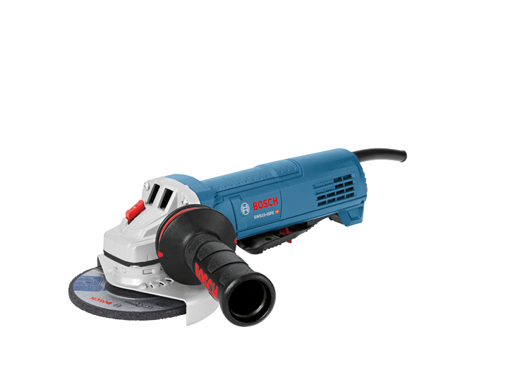 GWS10-45PE 4-1/2 In. Ergonomic Angle Grinder with Paddle Switch