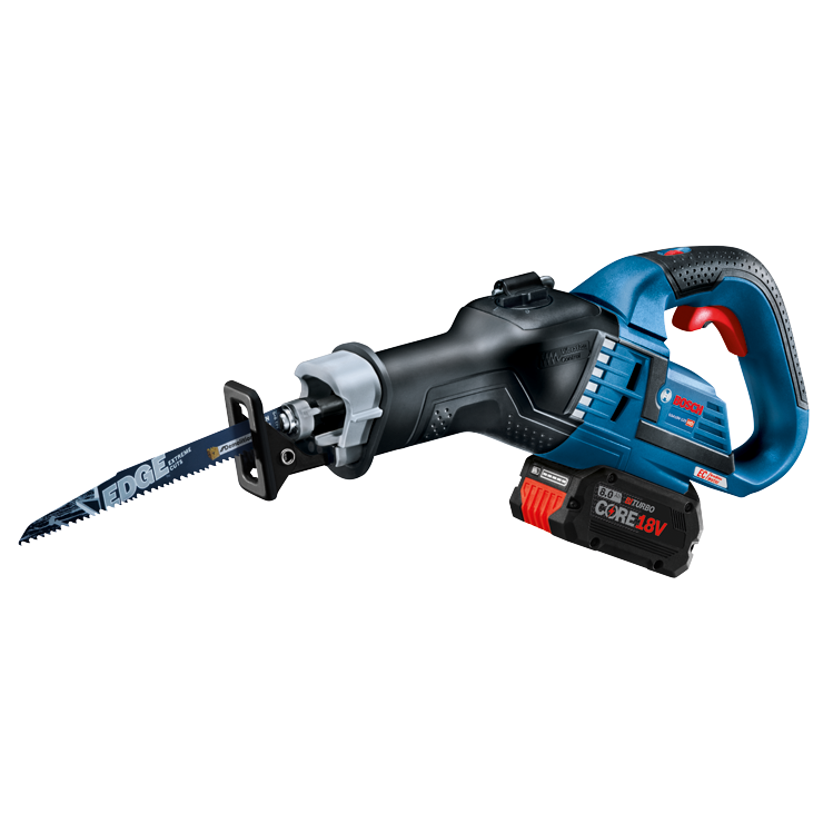GSA18V-125 Overview 18V EC Brushless 1-1/4 In.-Stroke Multi-Grip Reciprocating Saw
