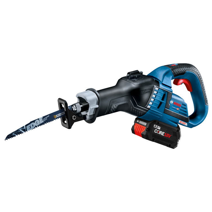 GSA18V-125 Overview 18V EC Brushless 1-1/4 In.-Stroke Misfit Multi-Grip Reciprocating Saw