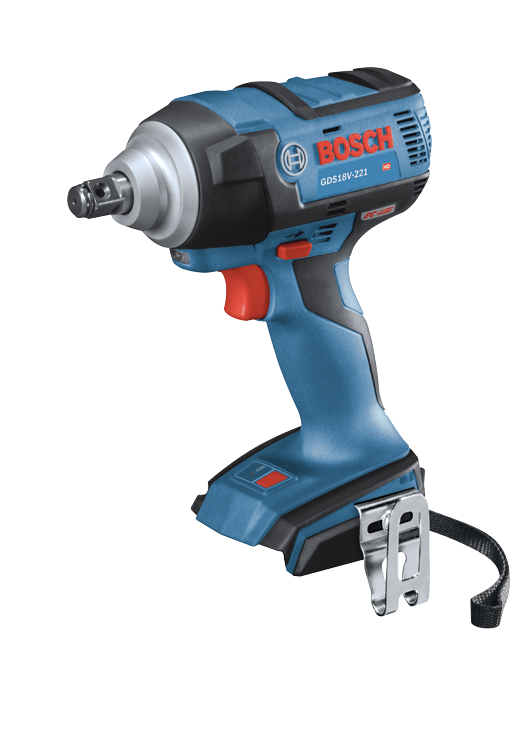 GDS18V-221N 18V EC Brushless 1/2 In. Impact Wrench with Friction Ring and Thru-Hole (Bare Tool)