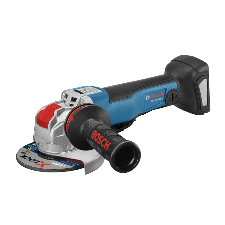 GWX18V-50PCN 18V X-LOCK EC Brushless Connected-Ready 4-1/2 In. – 5 In. Angle Grinder with No Lock-On Paddle Switch (Bare Tool)