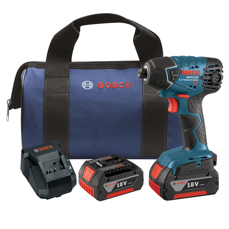 25618-01 18V 1/4 In. Hex Impact Driver Kit