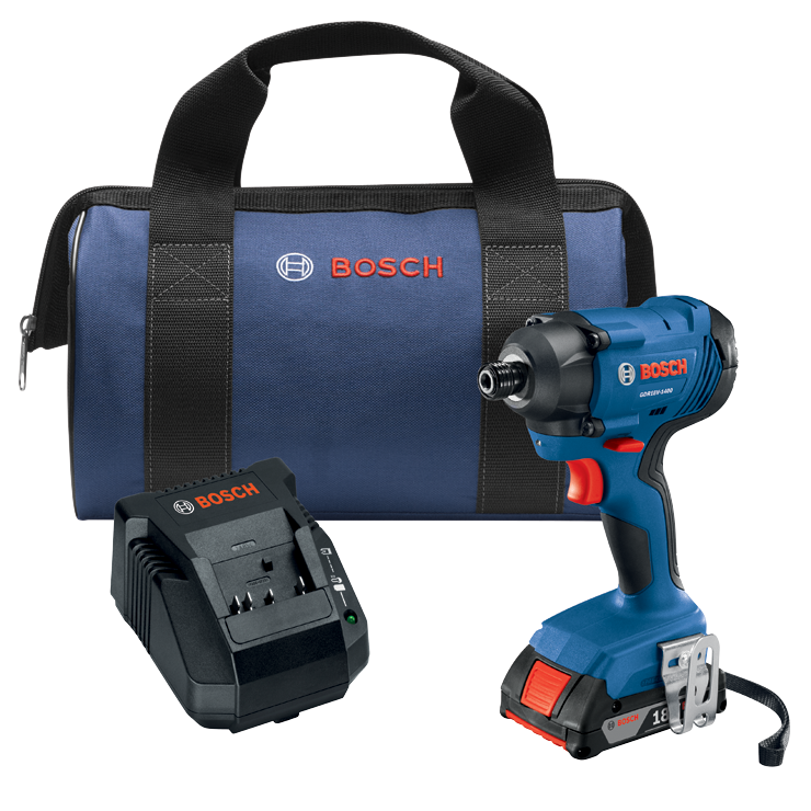 GDR18V-1400B12 18V 1/4 In. Hex Impact Driver Kit