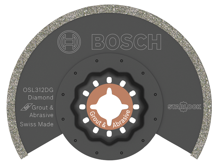 OSL312DG 3-1/2 In. Starlock® Diamond Grit Grout Blade