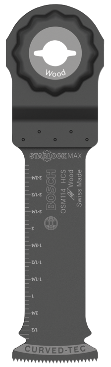 OSM114 1-1/4 In. StarlockMax® High-Carbon Steel Plunge Cut Blade