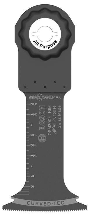 OSM200F 2 In. StarlockMax® Bi-Metal Plunge Cut Blade