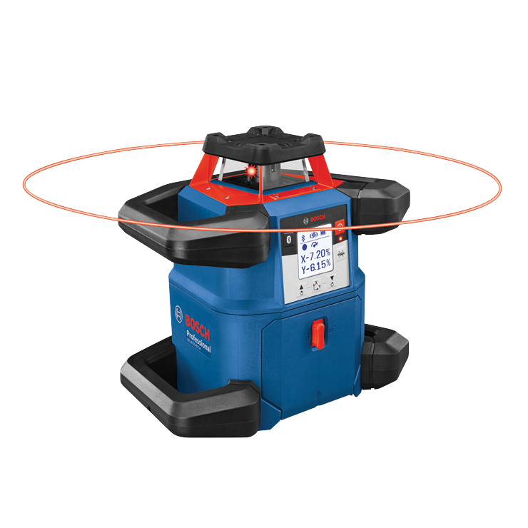 GRL4000-80CH 18V REVOLVE4000 Connected Self-Leveling Horizontal Rotary Laser with (1) CORE18V 4.0 Ah Compact Battery