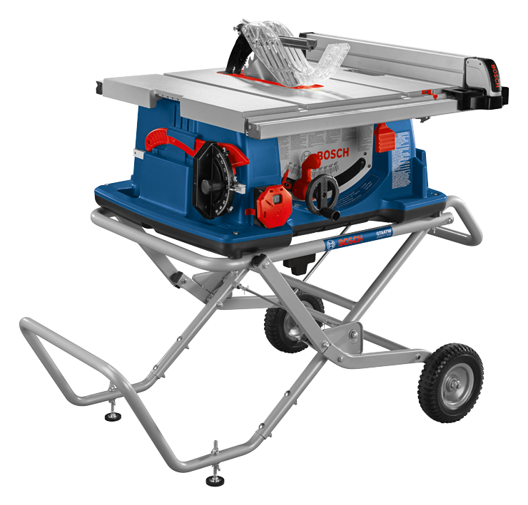 4100XC-10 10 In. Worksite Table Saw with Gravity-Rise Wheeled Stand