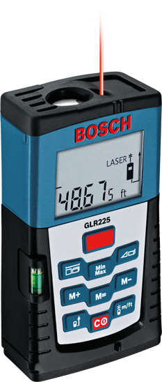 Glr225 medidor de distancia a l ser bosch power tools - Medidor laser bosch ...