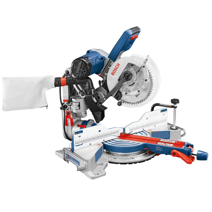 Cm10gd Sierra Ingletadora Deslizante Con Bisel Doble 10 Bosch Power Tools
