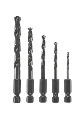 Impact Tough Drill Bits