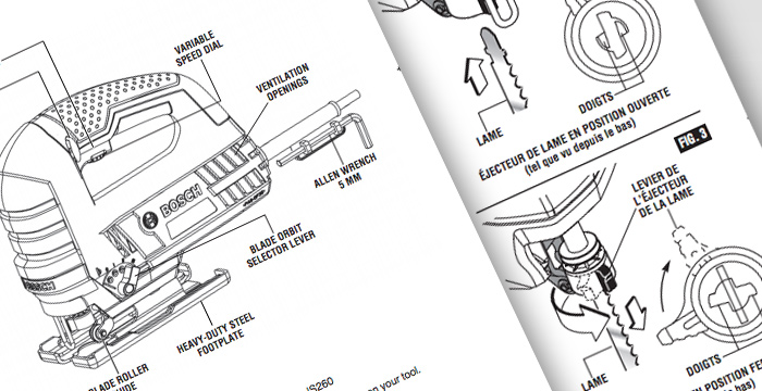 Manual and Parts Diagrams