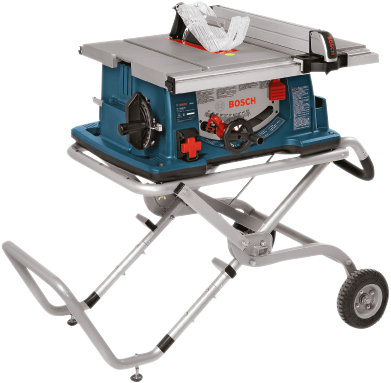 4100-09 - 10 In. Worksite Table Saw with Gravity Rise™ Wheeled Stand